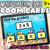 5's Multiplication Facts BOOM Cards | Digital Task Cards