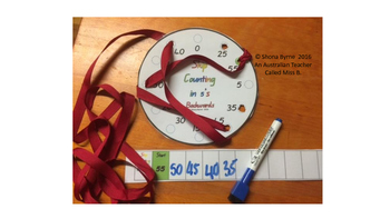 ACARA C2C 5's Skip Counting Fine Motor Patterns CCSS