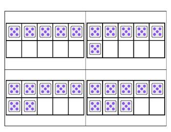 5's Subitizing Multiplication Facts