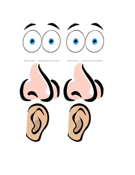 5 senses pictures