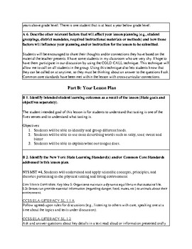 5 senses taste lesson plan