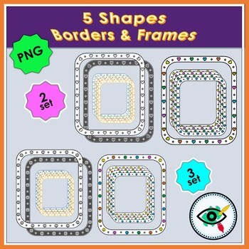 Shapes Frames and Borders