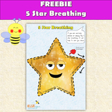 5 star breathing - relax and calm yourself