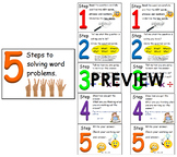 5 Steps to solving word Math problems (Newmans) #ausbts18