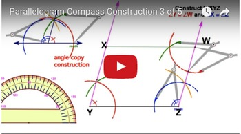 5 ways to construct a parallelogram with compass