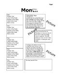 5 week Monthly Newsletter