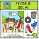 P4 FIND IT Set #1 {P4 Clips Trioriginals Digital Clip Art}