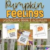 Pumpkin Feelings Interactive Book and Activities