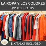 Clothing & Colors in Spanish La Ropa y Los Colores Picture Talks
