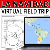 La Navidad- Webquest, Map, Comprehension ?s, Graphic Organizer