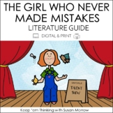The Girl Who Never Made Mistakes Book Guide DIGITAL AND PRINT