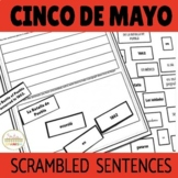 Cinco de Mayo Scrambled Sentences Writing and Reading Activity