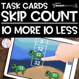 Boom Cards | 10 more 10 less | Distance Learning