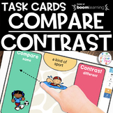 Boom Cards | Compare Contrast | Distance Learning