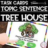 Boom Cards | Topic Sentences | Distance Learning