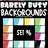 Digital Template Backgrounds | Barely Busy Backgrounds SET 6