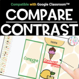 Google Classroom™️ | Compare Contrast | Distance Learning