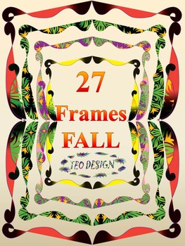 Frames - Fall - Personal or Commercial Use