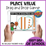 100th Day of School Place Value Tens and Ones Boom Cards