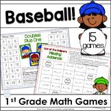 Baseball Classroom Theme Math Games