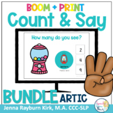 Count & Say Articulation BUNDLE! Sweets Themed BOOM Digita