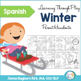 Spanish Winter Speech and Language Packet: Learning Through Play