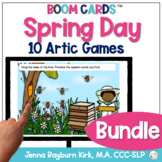 Spring Day Articulation BOOM Cards™️ BUNDLE for Speech Therapy