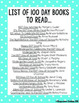 50 Activities For the 100th Day of School! Math, Literacy, & Much Much More!