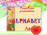 Alphabet - PowerPoint presentation - Clipart - end of the year activities