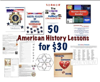 50 American History Lessons for $40