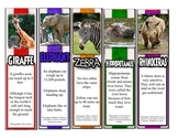 50 Animal Fact Bookmarks