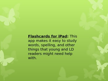 20 Apps for the I-Pad!!