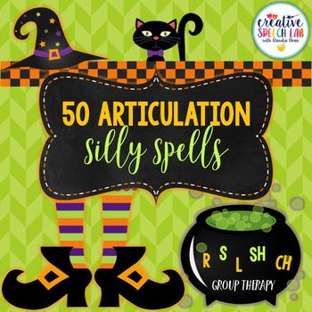 50 No Prep Articulation Silly Spells