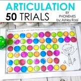 50 Articulation Trials In Speech Therapy - Phonemes