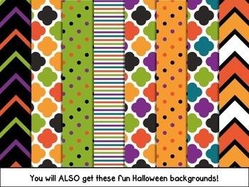 Halloween Digital Paper Backgrounds