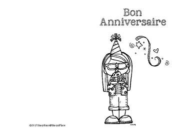 French Birthday Cards (Bon Anniversaire)