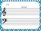 Blank Sheet Music (50) Winter Activities - Christmas, Composer, December