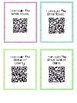 "50+ Block Area ""I Can"" Task Cards with QR Codes"