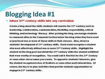 50+ Free Blogging Ideas to Use with Students across the Curriculum