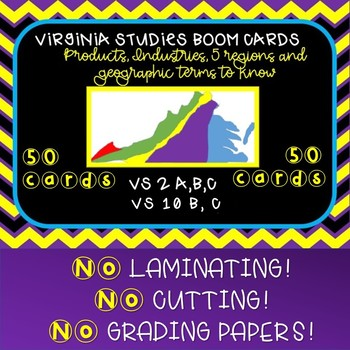 Virginia Studies SOL Review Products, Industries & Geography VS 2 and VS 10