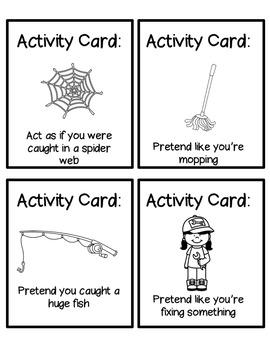 50 Brain Break Activity Cards