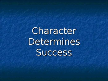 50 Character Trait Definitions