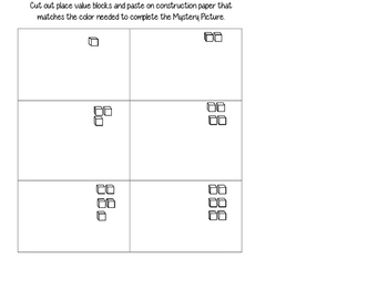 50 Chart Pencil w/Place Value & Ten Frame Cards for Independent Work