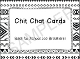 50 Back to School Chit Chat Cards!