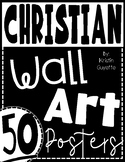 50 Christian Wall Art Posters