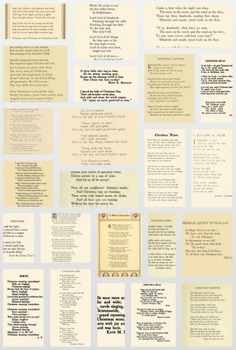 50 Christmas Poems to use for anything at all!