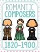 NEW! 50 Classical Composer Flashcards, April, May, June, Spring, Easter, Pink