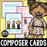 Composer Flashcards (50), Classical, April, May, June, Spring, Easter, Pink