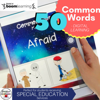 50 Common Words for Special Education