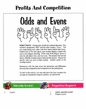 50 Consumer & Family Economics Games & Activities Packet